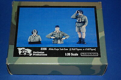 Verlinden Productions 2336 - Afrika Korps Tank Crew  scala 1/35