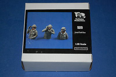Verlinden Productions 529 - Israeli Tank Crew  scala 1/35