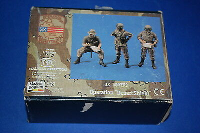 "Verlinden Productions 539 - US Tankers Operation ""Desert Shield"" scala 1/35"