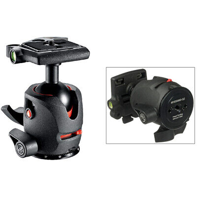 New In Box Manfrotto MH054M0-Q2 Magnesium Ball Head with Q2 Quick Release