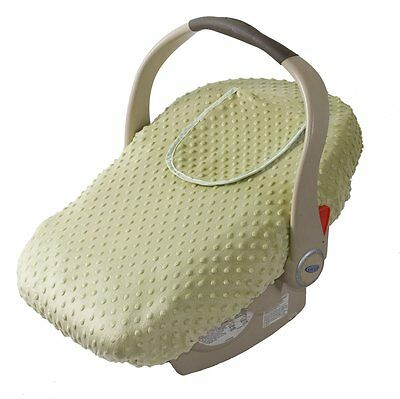 Car Seat Cover - Cover For Your Baby In Their Car Seat - Sage