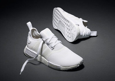 301dd3681 Adidas NMD R1 Runner Triple White S79166 (All Size) 3M Boost OG PK Bape