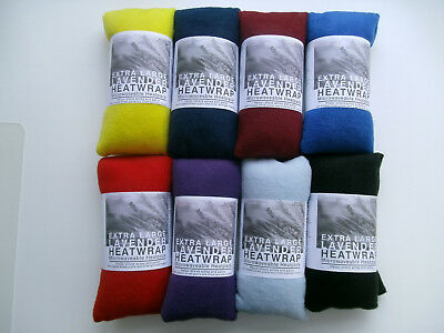 HEAT PACK WITH LAVENDER. MICROWAVABLE / FREEZABLE. Natural wheat bag.