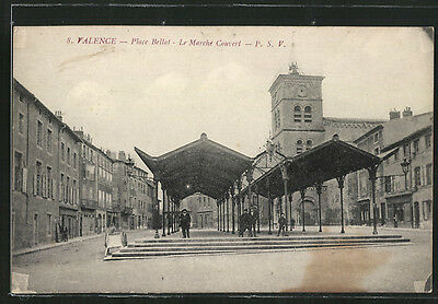 formidable CPA Valence, Place Bellat, Le Marche Couvert
