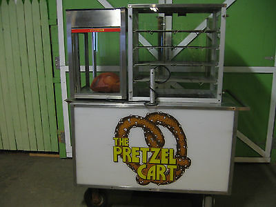 Pretzel Concession Cart  Carts Of Colorado Model Cc-2Pc
