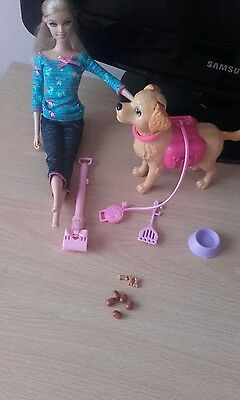 barbie tanner pooping dog puppy training