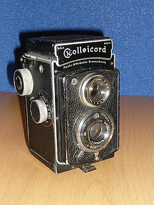 Rare Rolleicord 1A Model K3-530 Vintage TLR Camera 1937 Works FREE POSTAGE LOOK!