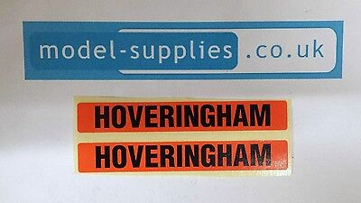 Matchbox K1b Foden 8 Wheel Tipper Truck Reproduction Hoveringham Sticker Set
