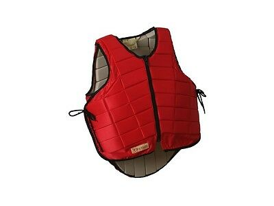 Racesafe RS2010 Body Protector, Adult Small Standard Back Red
