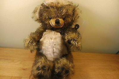 MERRYTHOUGHT PUNKIE Bear  LTD ED  28/100 -100% MOHAIR New Old Stock see below