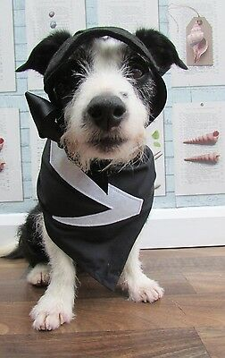 Superdog Zoro costume bandana and mask for your superhero made by Mrs Nibbles