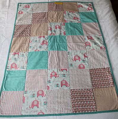 Cot Quilt Quality Handmade Modern Style Funky Design