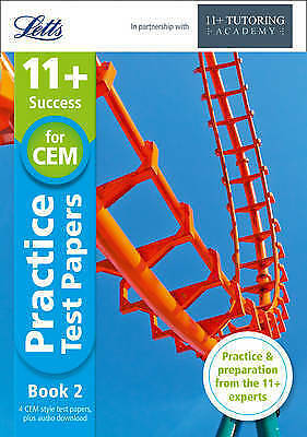 Letts 11+ Success-11+ Practice Test Papers Book 2 Inc. Audio Down. 9781844198429