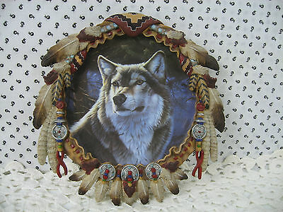 Hamilton Shield Collection Winter Majesty Protector of the Wolf 1996 Plate