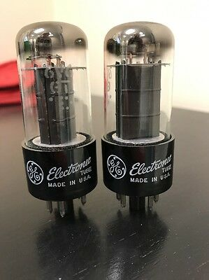 6V6Gt General Electric Nos Pair Valve/tube (Lc27)