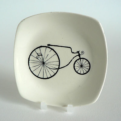 Midwinter Conran 1850 Tricycle Pin Tray Velocipede Cycles Pickle Dish Butter Pat