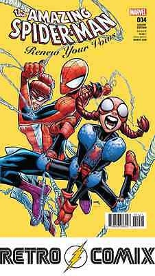 Marvel Amazing Spider-Man Renew Your Vows #4 Ramos Variant New/unread Bag/board