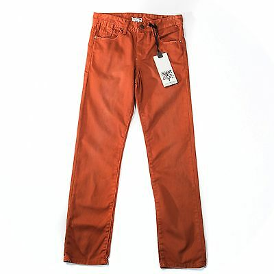 New  Firetrap Boys Jeans Burnt Orange Age 9-10 Years