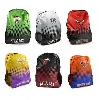 NBA Basketball Backpack Rucksack Gym School Carry Bag American USA Sports Sack