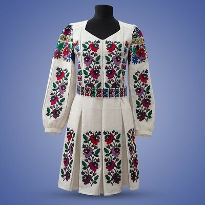 Ukrainian embroidery, embroidered dress, S - 3XL