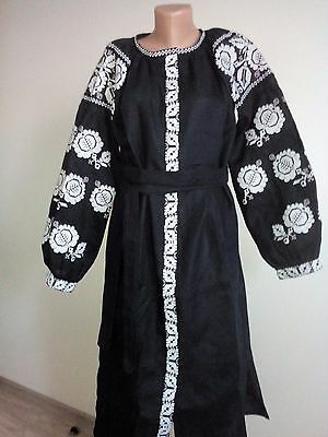 Ukrainian embroidery, embroidered dress, XS - XL, Ukraine