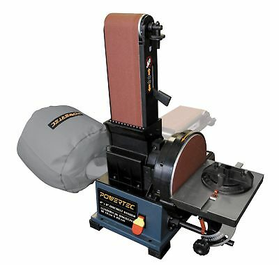 POWERTEC BD4800 Woodworking Belt Disc Sander w/ Built-In Dust Collection, ...NEW