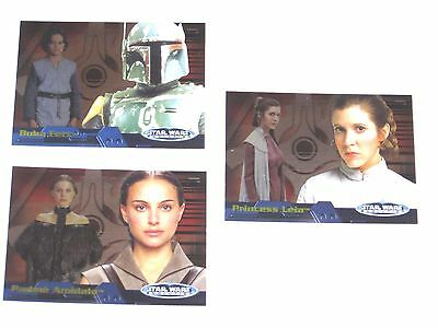 2006 Star Wars Evolution Update Edition INSERT CHASE 3 CARD LOT! #3A 15A 16A!