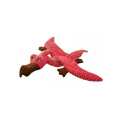 Kong Dynos Pterodactyl Coral - Accessories - Dog - Toys Soft/plush