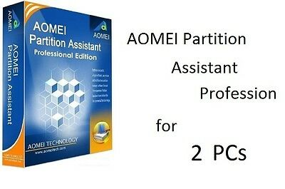 AOMEI Partition Assistant Professional Edition 6 (Resize Move System Migration)