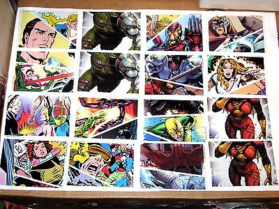 2011 Marvel Universe Parallel Acetate Plastic Insert Chase 25 Card Lot!