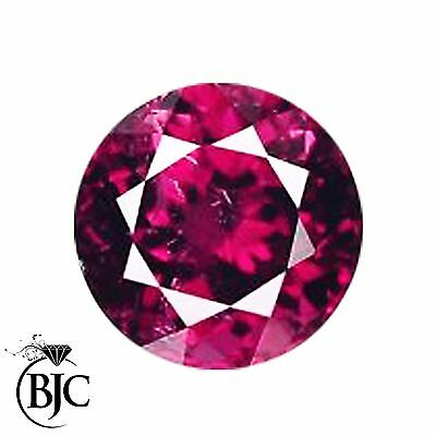 Natural Round Cut Mined Rubelite Pink / Red Tourmaline Loose AAA+ Quality Cut