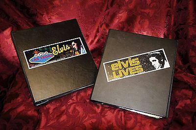 Elvis Presley Collection Trading Cards in (2) Binders Approx 750 Cards!! WOW