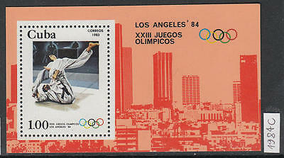 XG-AL174 HAVANA - Olympic Games, 1984 Los Angeles '84 MNH Sheet