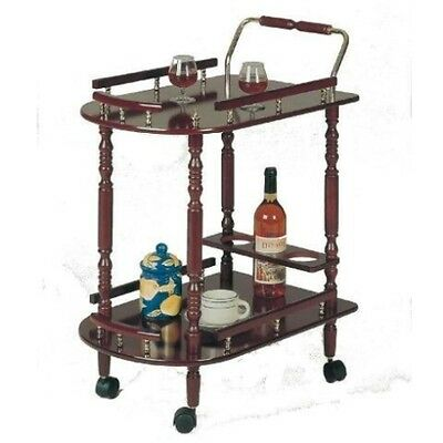 Vintage Serving Cart Wheel Antique Liquor Wine Bar Old School Rolling Island Tea