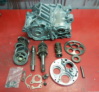 Honda HRC RS250 NF5 parts lot - Crankcase and gearbox parts