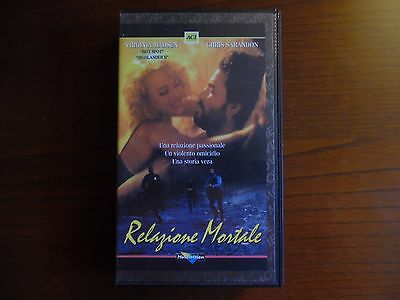 Relazione mortale (Virginia Madsen, Chris Sarandon) - VHS ed. Multivision rara