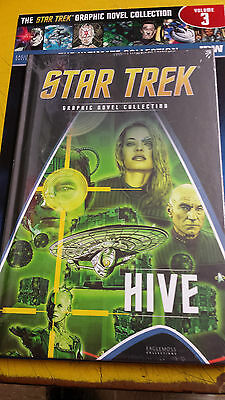 Star-Trek, = Graphic Novel Collection,= Issue-3, = Hive