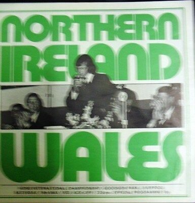 Northern Ireland V Wales 1973 Home International