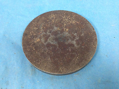 """Generic Steel Plate Disc 6"""" O.D., 1/2"""" Thick"""