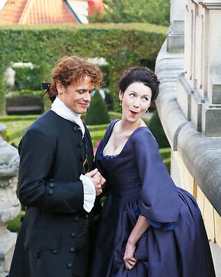 Caitriona Balfe Sam Heughan Outlander 8x10 Photo Matte Paper Lab Printed #9