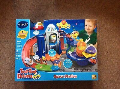 Vtech Toot Toot Space Station Baby Toddler Learning Toy BNIB