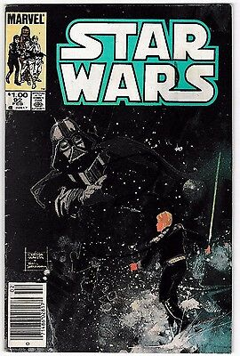 STAR WARS #92 (VG+) Luke Skywalker! Darth Vader! 52 Pages! Hard to Find! 1985