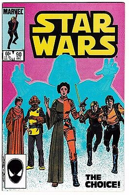STAR WARS #90 (VF+) Princess Leia! Han Solo! Darth Vader! Luke Skywalker! 1984