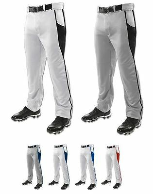 Champro Triple Crown Youth or Adult Pro Open Bottom 2 Panel Piping Baseball Pant