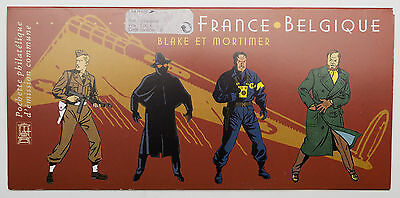 Pochette D'emission Commune France Belgique Blake Et Mortimer 2004