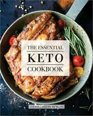 The Essential Keto Cookbook: 124+ Ketogenic Diet Recipes (Including Keto Meal Pl