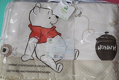 Winnie The Pooh Neutral Spot/Cot Bed Bumper **free postage**