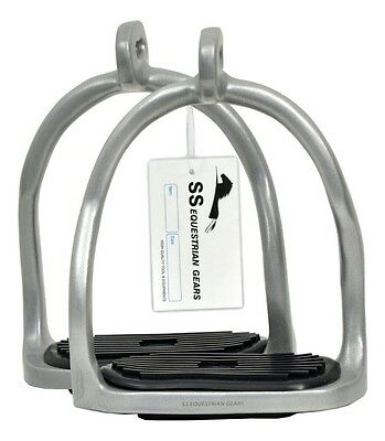 Double Bend Balanced Safety Stirrups- Riding Stirrups- Equestrian
