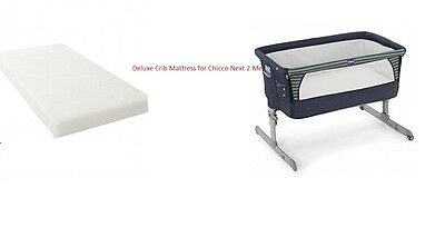 Crib Mattress For Chicco Next 2 Me Co-Sleeper Bedside Crib Next2Me