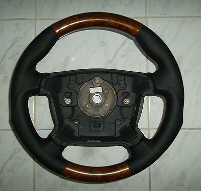 Ford BA BF Falcon FPV chunky perforated  leather/woodgrain steering wheel.NEW